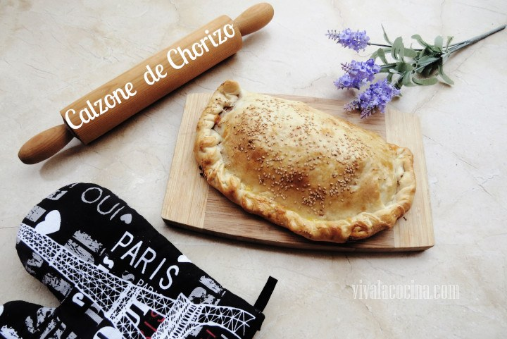 Calzone de chorizo receta f cil para hacer calzone casero for Menu casero facil