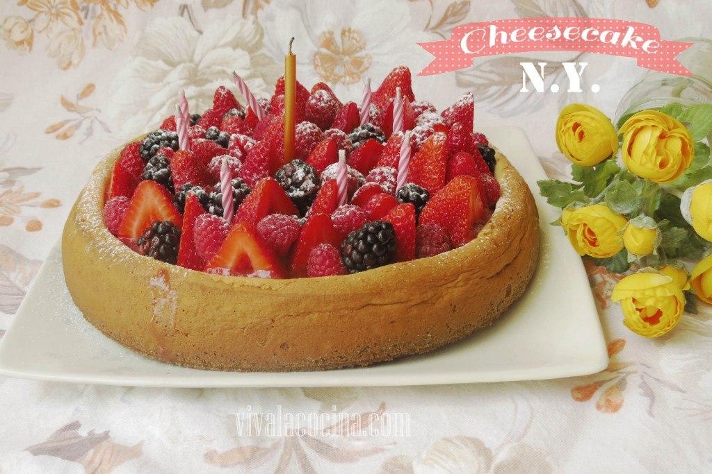 Receta de Cheesecake estilo Nueva York