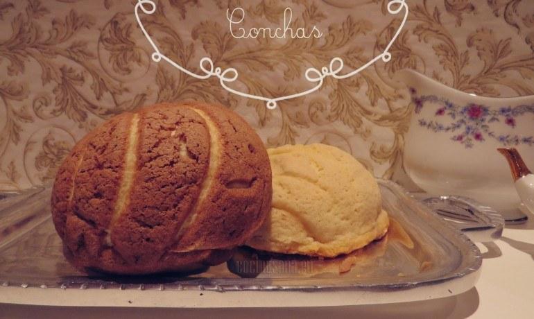 conchas de pan hechas en casa