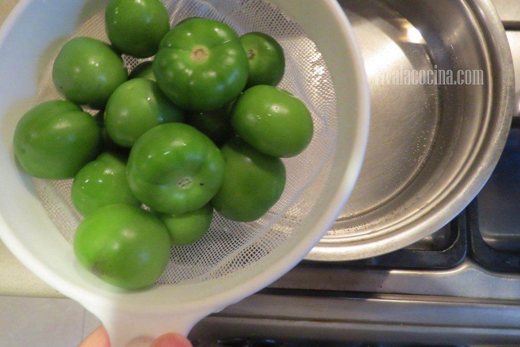 Cocer los Tomates