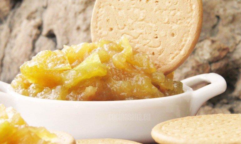 Receta de Mermelada de manzanas casera con canela