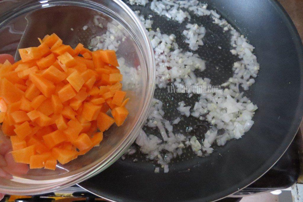 Añadir las Zanahorias