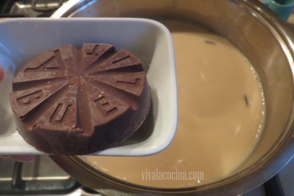 Agregar el Chocolate