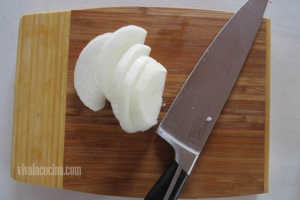 Filetear la Cebolla