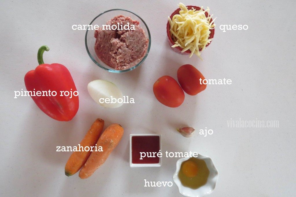 Ingredientes Relleno