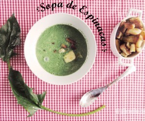 Sopa de Espinacas Cremosa