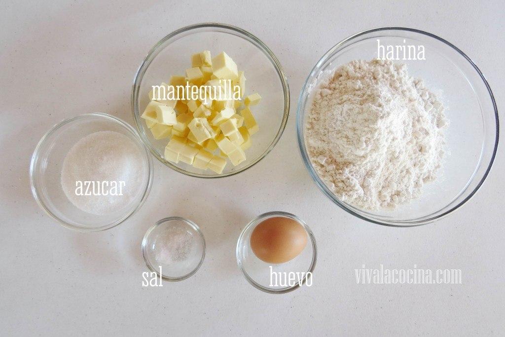 Ingredientes Masa