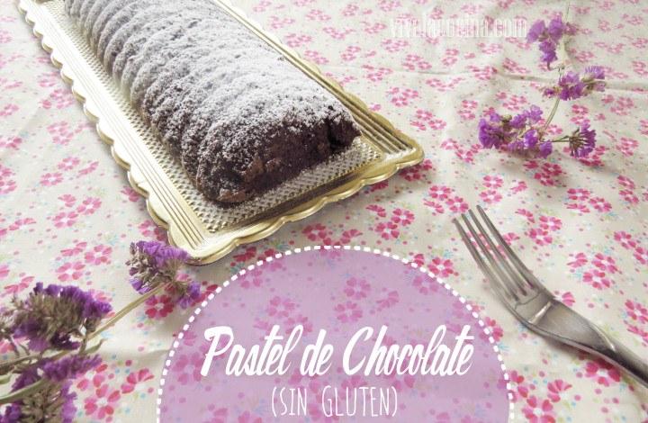 Pastel de Chocolate con Nueces Sin Gluten
