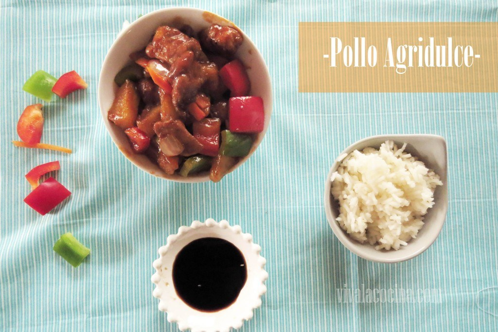 Pollo Agridulce: Receta original