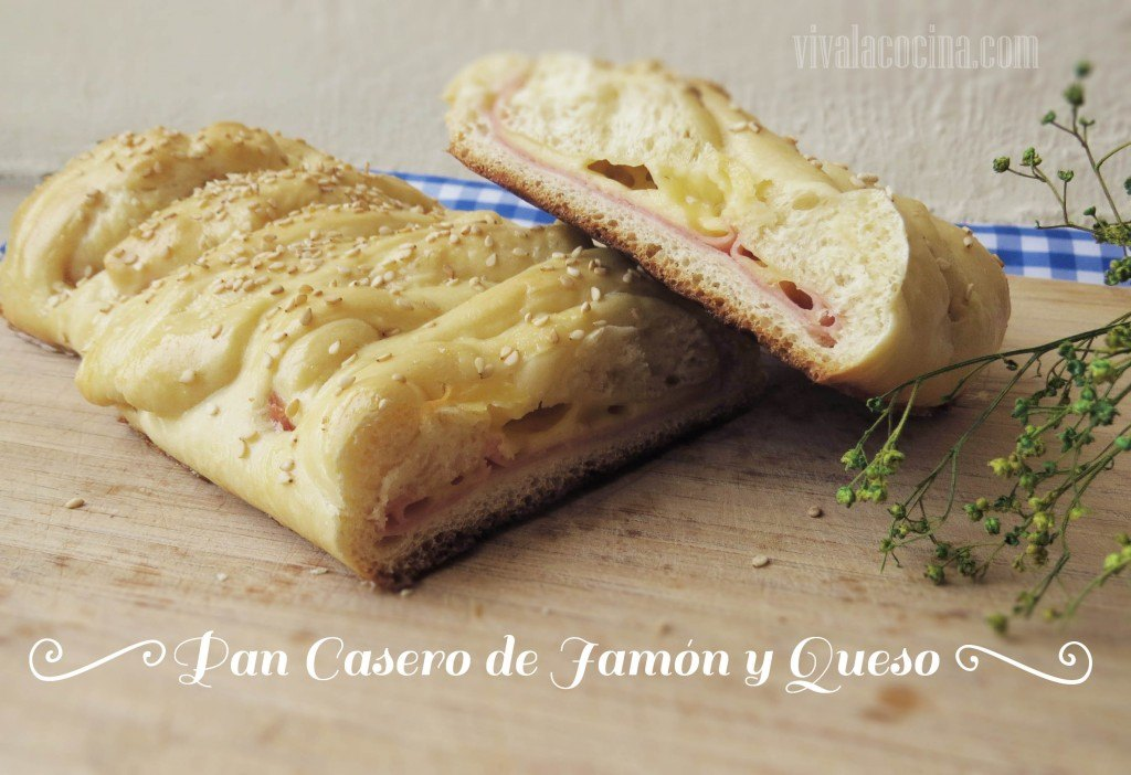 Pan de Queso y Jamón