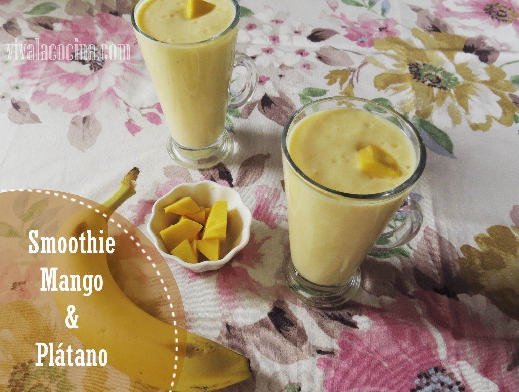 Smoothie de Mango y Plátano: Delicioso y Refrescante