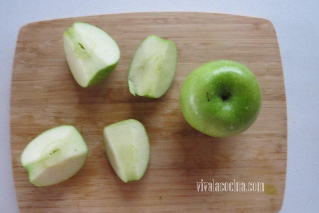 Cortar las Manzanas