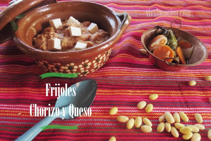 Frijoles con Chorizo