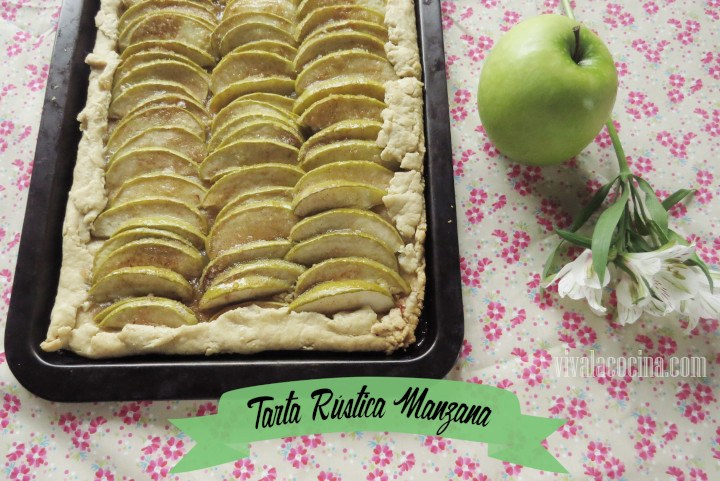 Tarta Rústica Manzana
