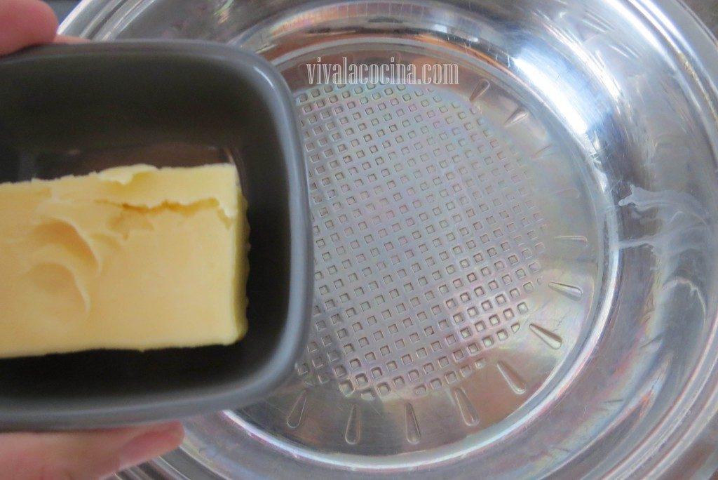 Añadir la mantequilla