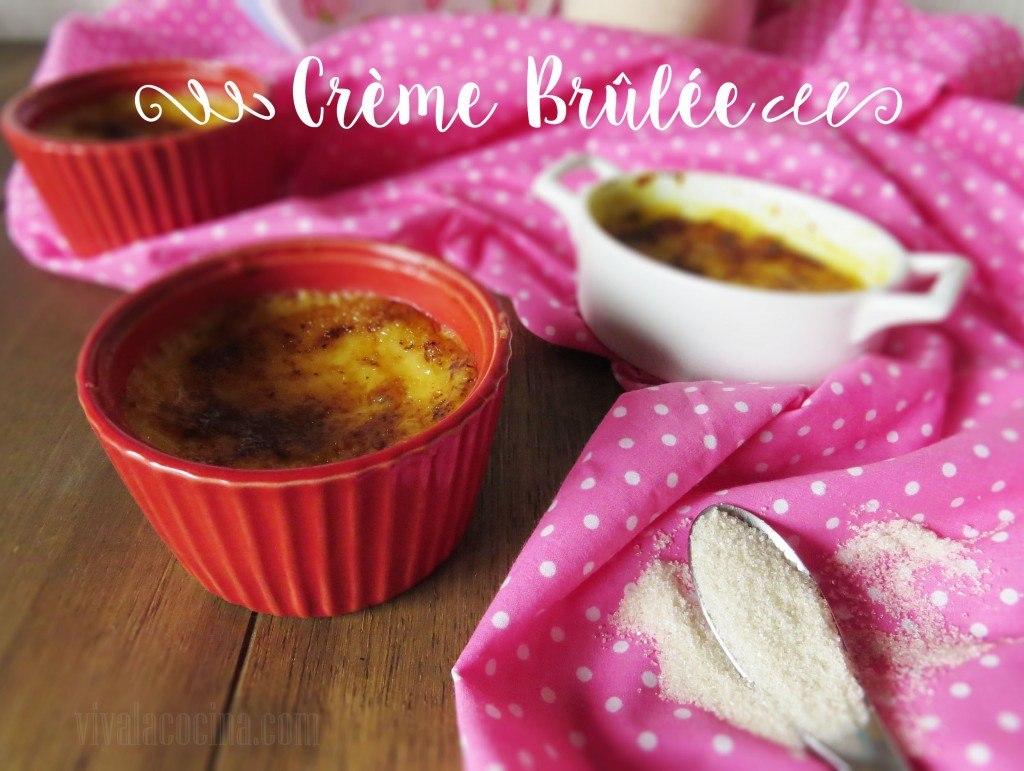 Creme Brulee: Sencillo y Delicioso Postre