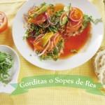 Antojitos Mexicanos: Sopes o Gorditas de Res con Verduras