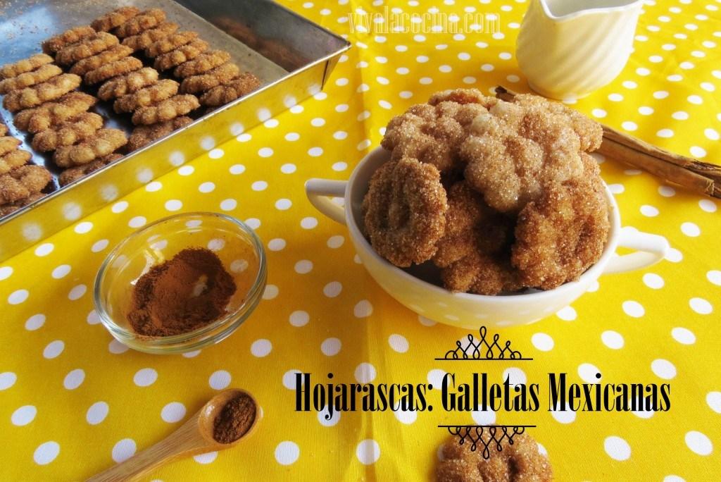 Galletas Hojarascas Mexicanas
