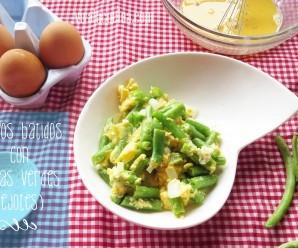 Huevos con Ejotes