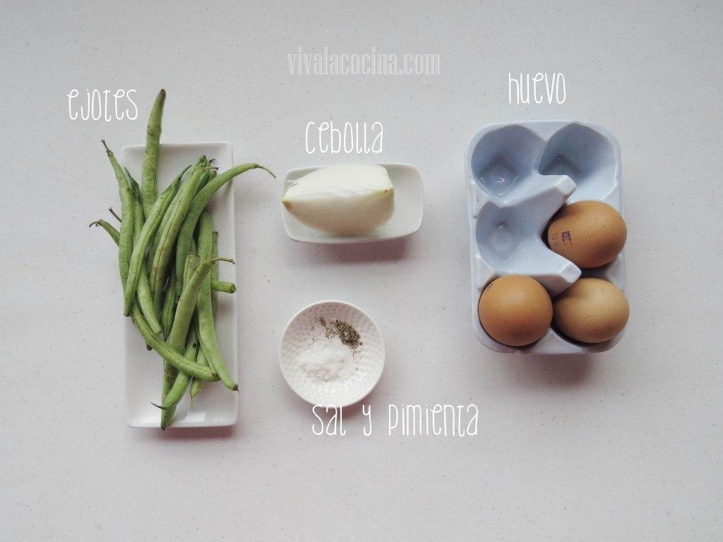 Ingredientes para el Huevo