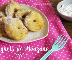 Beignets de Manzana