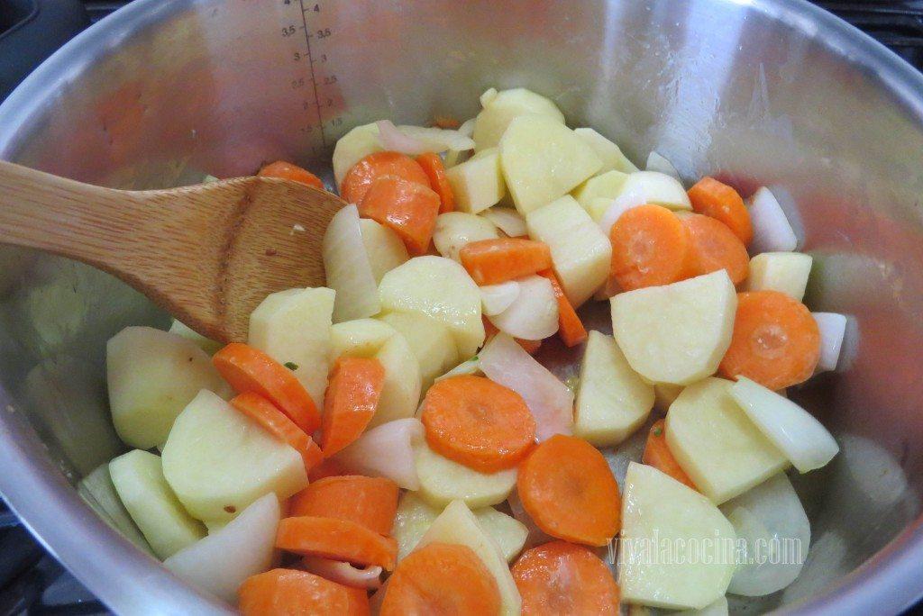 Incorporar verduras