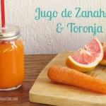 Recetas con Hurom: Jugo Fresco de Zanahoria y Toronja