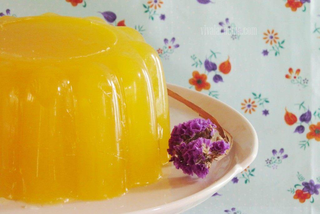 gelatina con piña