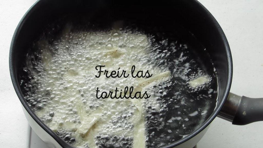 Freir las Tortillas