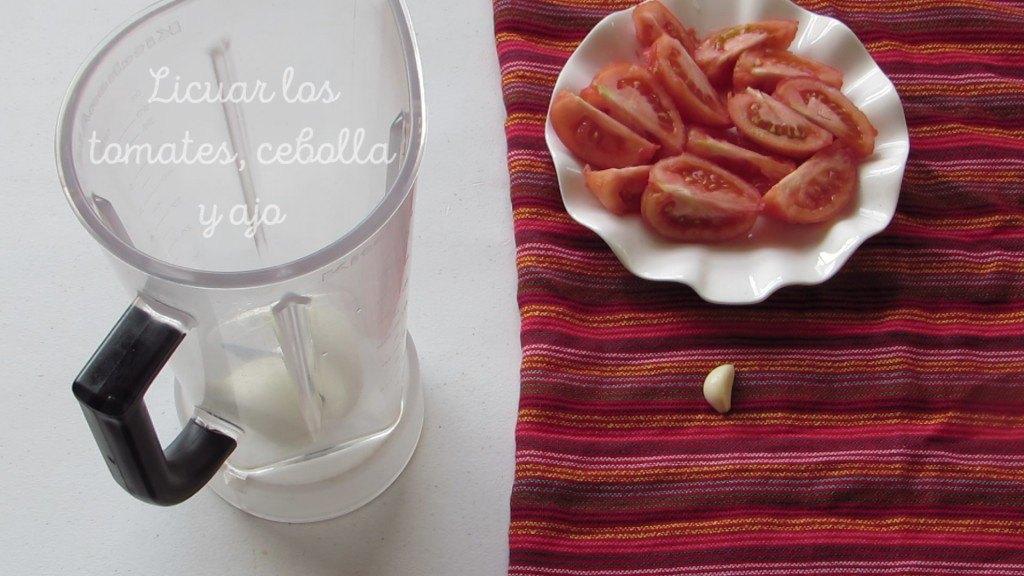 Licuar Tomates