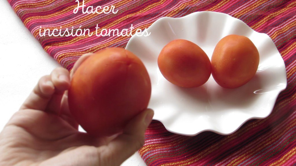 incision tomates