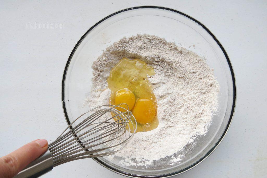 Agregar el Huevo