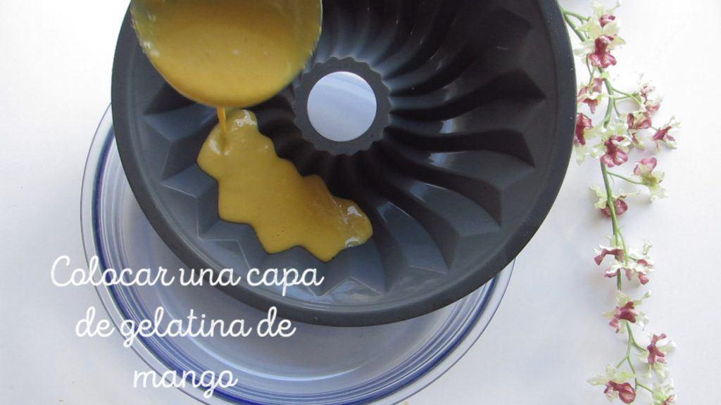 colocar gelatina por capas