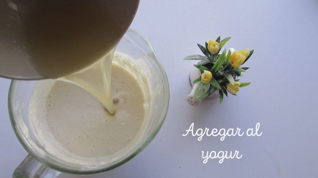 grenetina al yogur