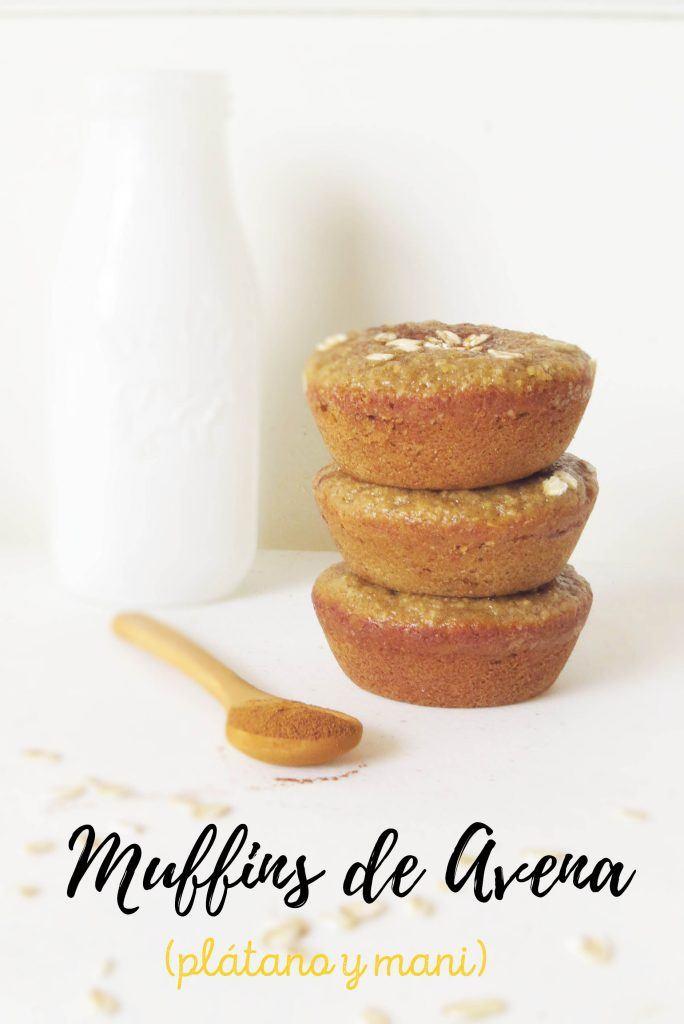 muffins con avena