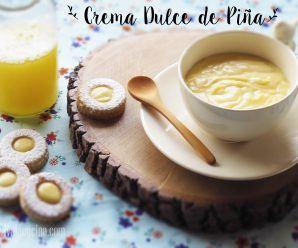 Crema Dulce de Pina