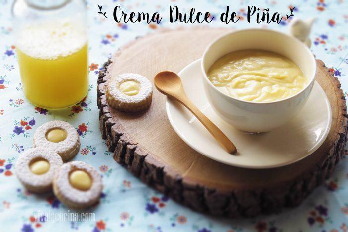 crema dulce de pinia