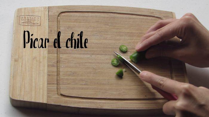 picar el chile