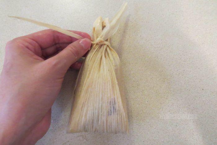 Cerrar tamales