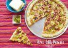 Pizza de Chorizo, Jalapeños, Cebolla y Tocino: PIZZA MEXICANA