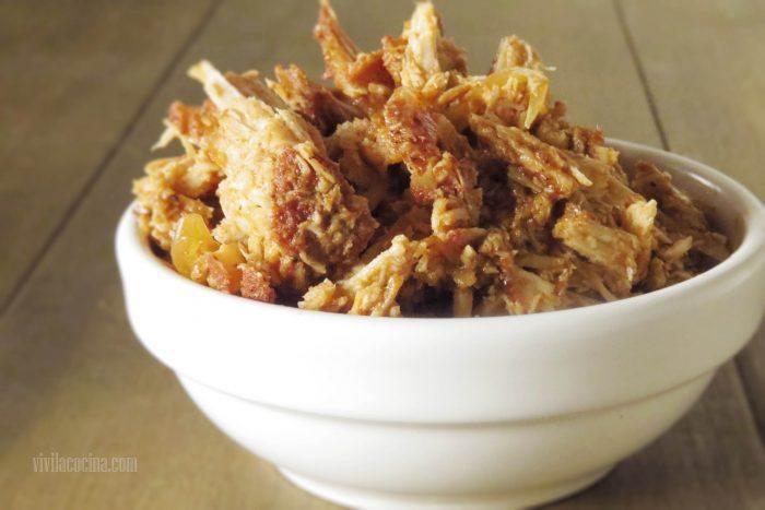 Pulled Pork terminado en bowl