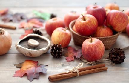 Manzanas para la cocina
