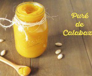 Puré de Calabaza: como prepararlo en casa rápido y fácil