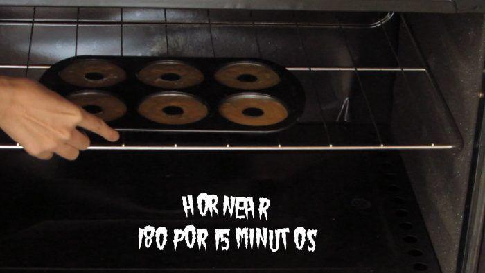 hornear donas de calabaza