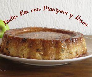 Budin de Pan con Pasas