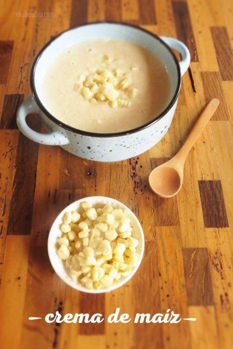 crema de maíz tierno o elote