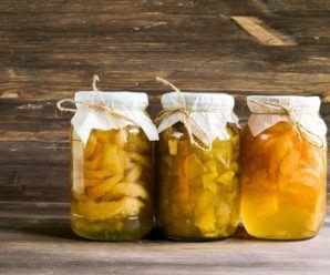 Frascos de Fruta en Almíbar