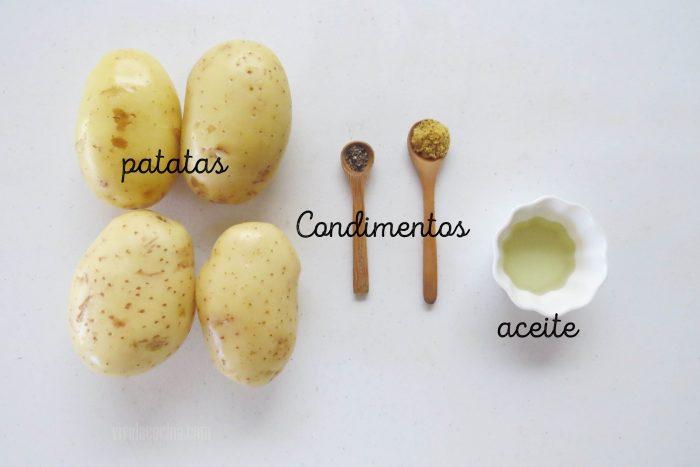 ingredientes para preparar patatas rellenas