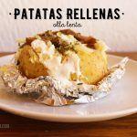 Papas o Patatas Rellenas – Receta de Baked potato en Olla Lenta