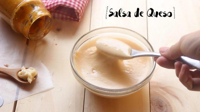 salsa de queso para el Sándwich Montecristo